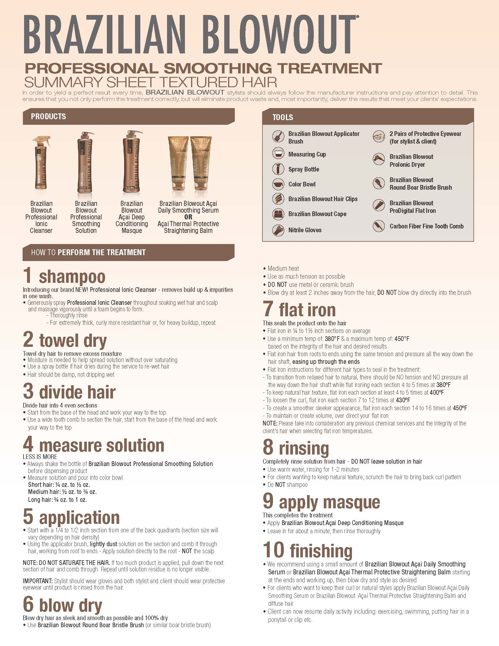 brazilian blowout image