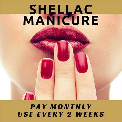 Shellac Manicure Amp Hand Treatment The M Salon